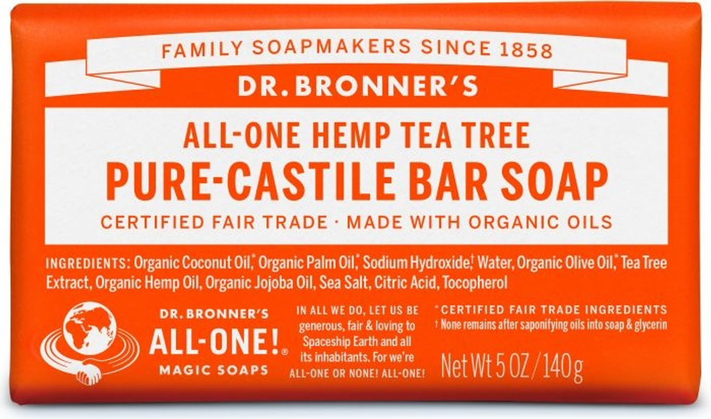 Dr. Bronner's Magic Soap - Tree Tea CASTILLE Soap