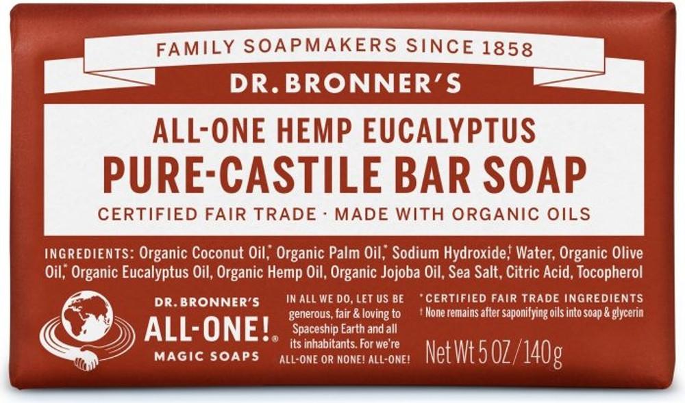Dr. Bronner's Magic Soap - Eucalyptus CASTILLE Soap