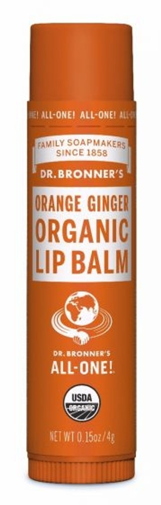 Dr. Bronner's Orange Ginger Organic Lip Balm