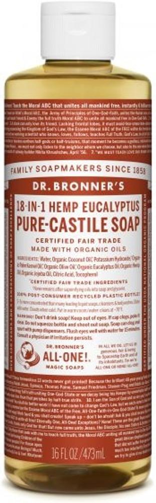 Dr. Bronner's Organic Pure-Castile Liquid Eucalyptus Soap
