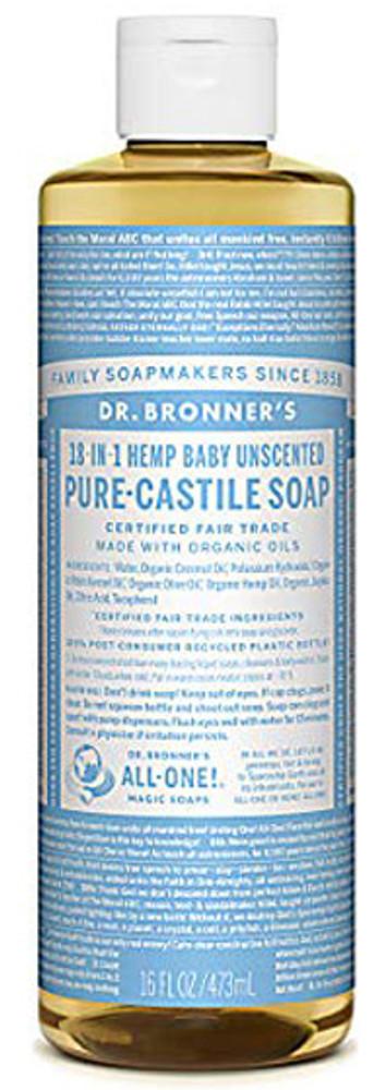 Dr. Bronner's Organic Pure-Castile Liquid Baby Mild Soap