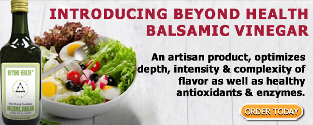 Improve Your Health with Balsamic Vinegar