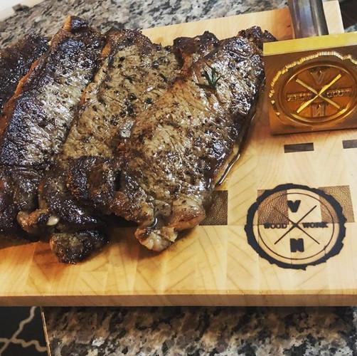 Custom Steak Branding Iron