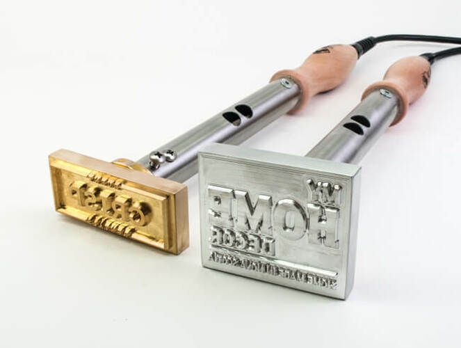 Brass vs. Aluminum Branding Irons