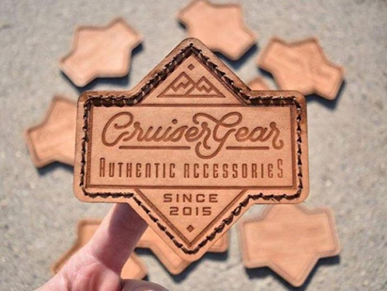 Logo on Leather