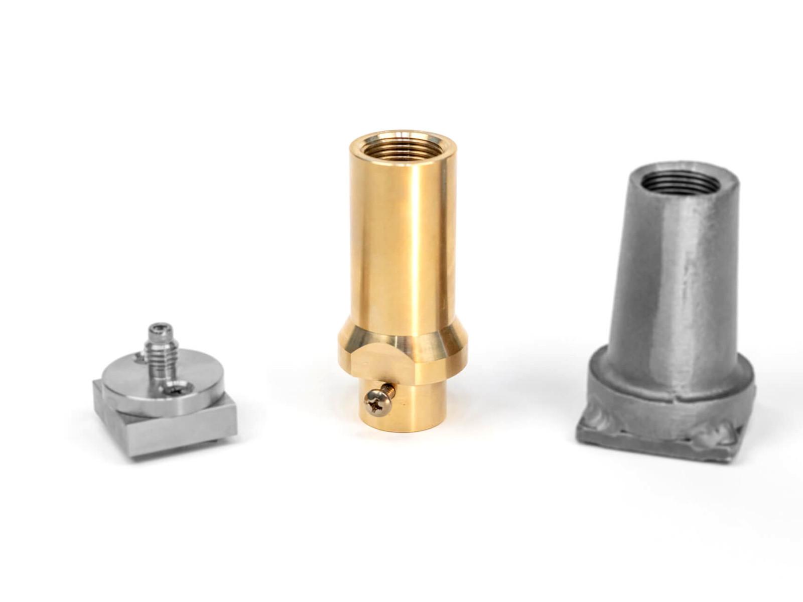 Wallbrand branding iron extra plate adapter