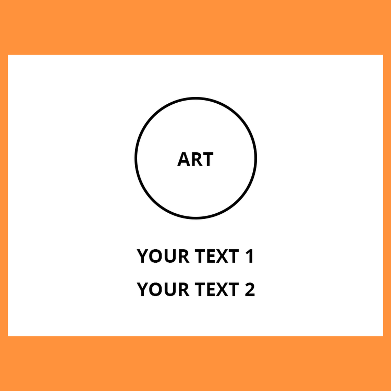 Online Designer - Rectangle Style 2