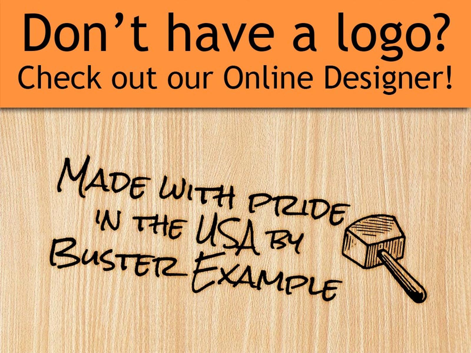 Online Designer - Rectangle Style 1