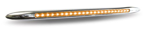 "17"" DUAL FUNCTION - TURN SIGNAL LIGHT BAR (24 LED) - AMBER/BLUE"