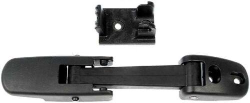 These Hood Latches are designed for long-lasting use. Their hard plastic housing helps safeguard against breakage, ensuring that the hood won't unexpectedly open while you're driving. Easily installed, the latch restores the convenience of a properly operating hood and is crucial for safety. Rigorous quality control measures have been undertaken to ensure that these parts conform to product standard.