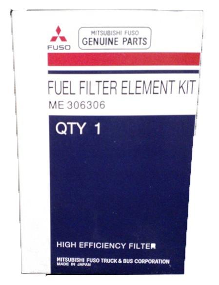 ME306306 Fuso Fuel Filter Element Kit