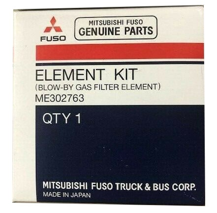 ME302763 Fuso Element Kit Blow-by Gas Filter