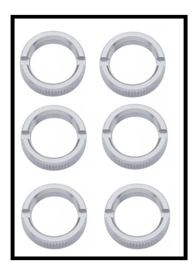 Chrome Face Nuts for Peterbilt and Freightliner  Toggle Switches