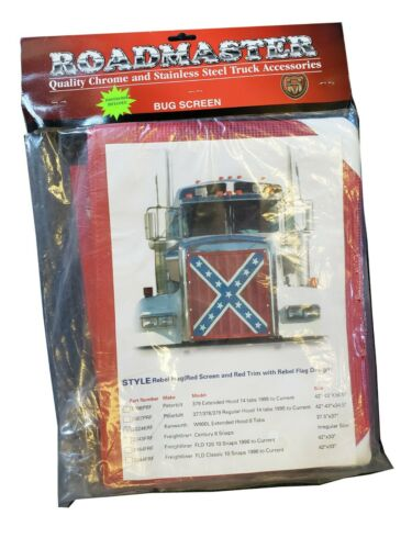 Confederate Flag Bug Screen - Freightliner Century