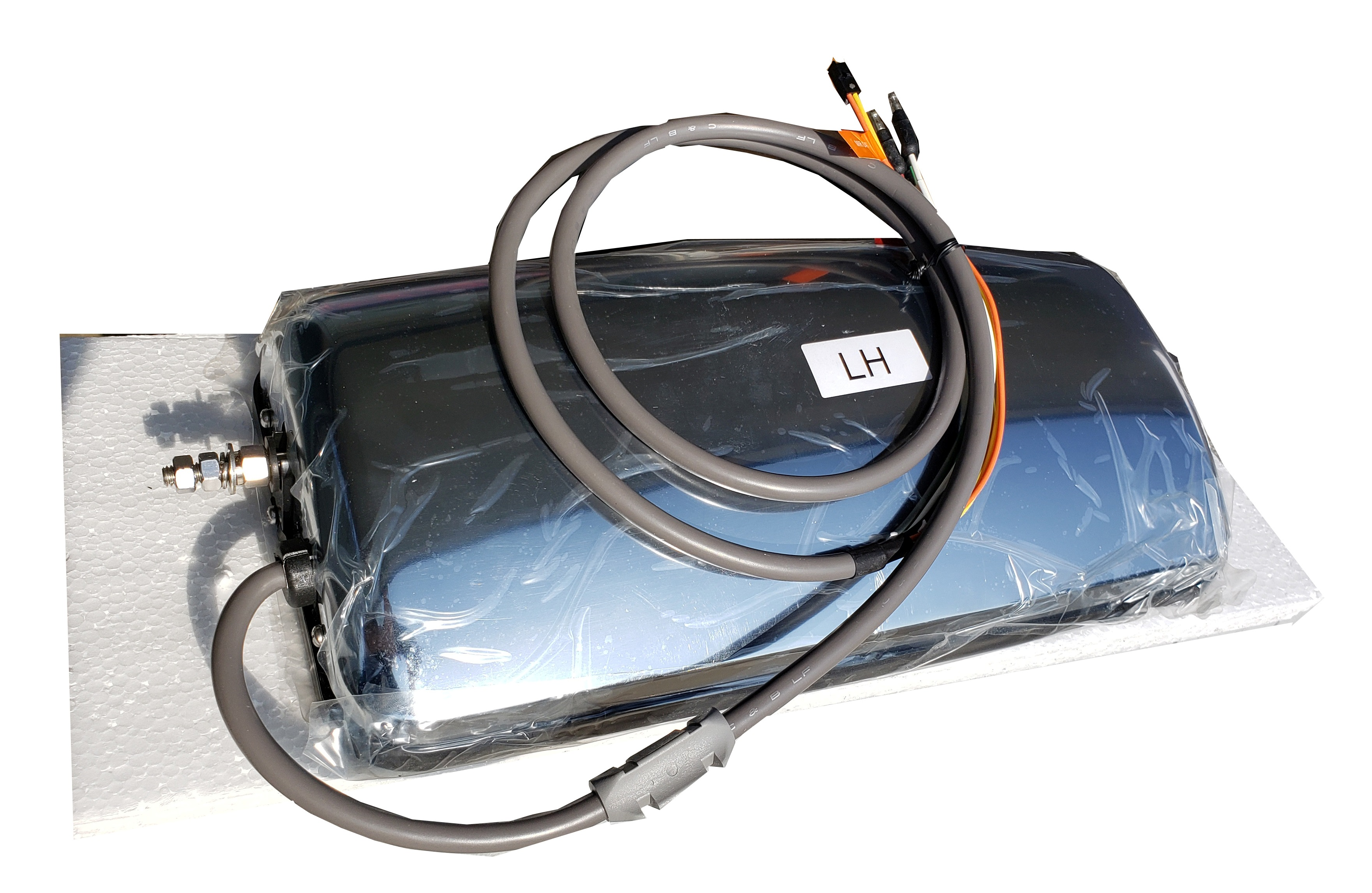 Peterbilt 389 Heated (L/H) West Coast Motor Mirror w/ Oat Sensor