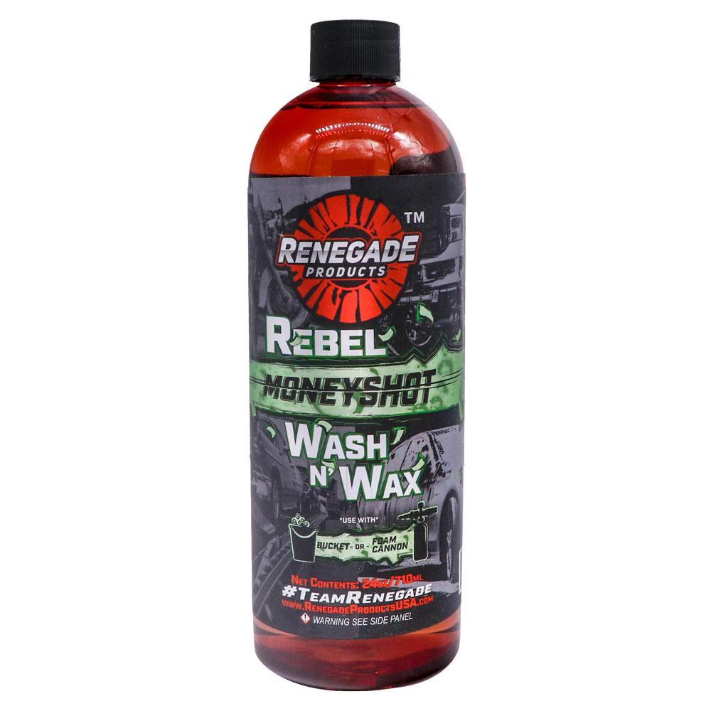 Renegade Rebel Moneyshot Wash N' Wax Soap (24 oz)