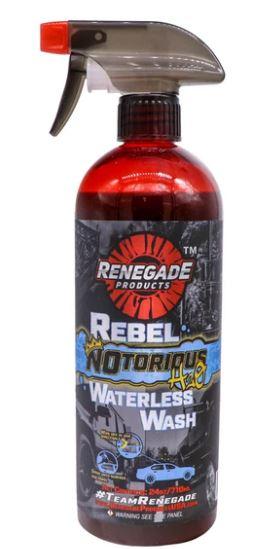 Rebel NOtorious H2O Waterless Wash (24 oz)