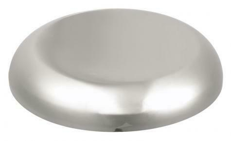 """AIR HORN COVER (7-3/4"""" to 8"""" Diameter) Weather Protection Cover - Chromed SS"""