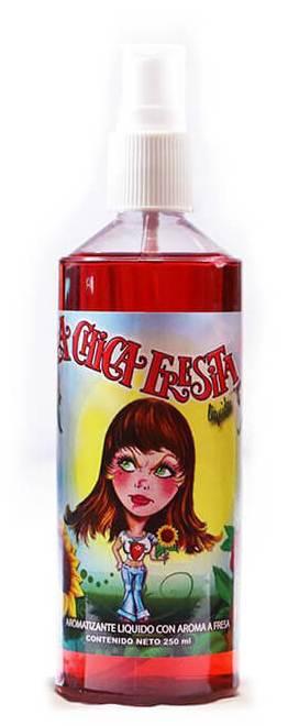 LA CHICA FRESITA Air Freshener - Strawberry Scent LIQUID SPRAY (8 oz) Bottle