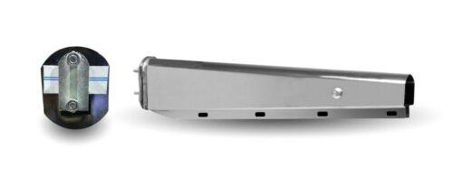 "Chromed Standard Mud Flap Hanger Set (2.5"")"