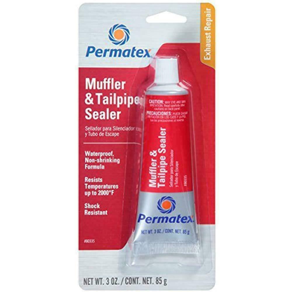 Permatex New 80335 Muffler and Tailpipe Sealer, 3 oz., Made in USA