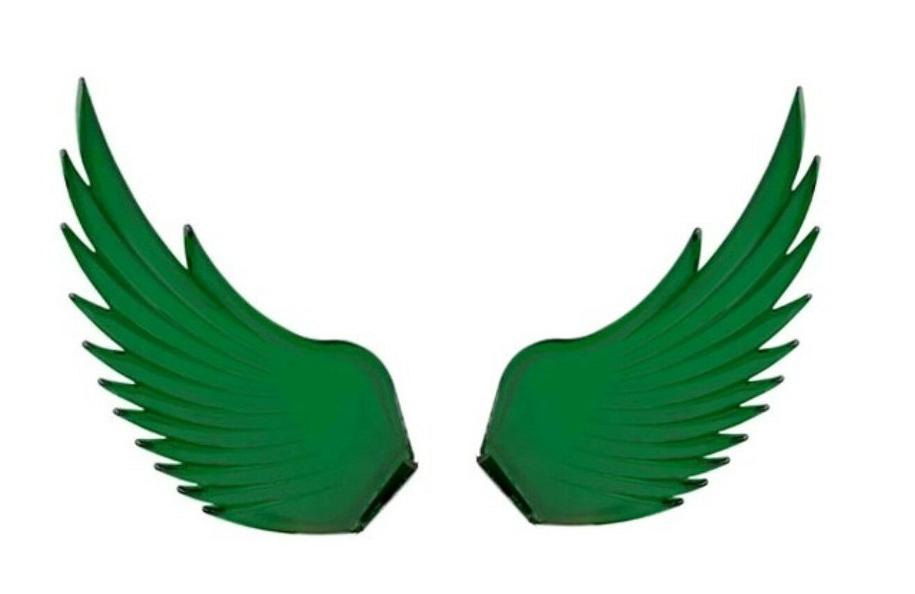 Windrider (GREEN) Hood Ornament Replacement Wings