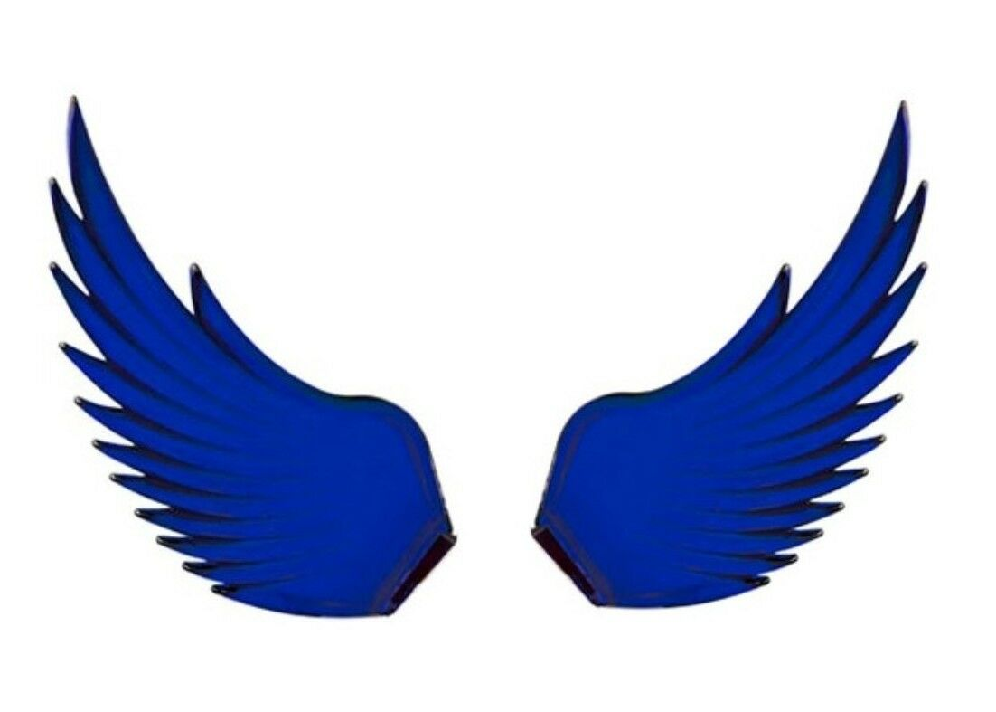Windrider (BLUE) Hood Ornament Replacement Wings