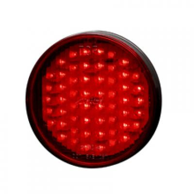 """4"""" Red Round (S/T/T) LIGHT (56 LED)"""