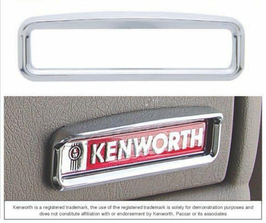 Kenworth Glove Box Emblem Bezel