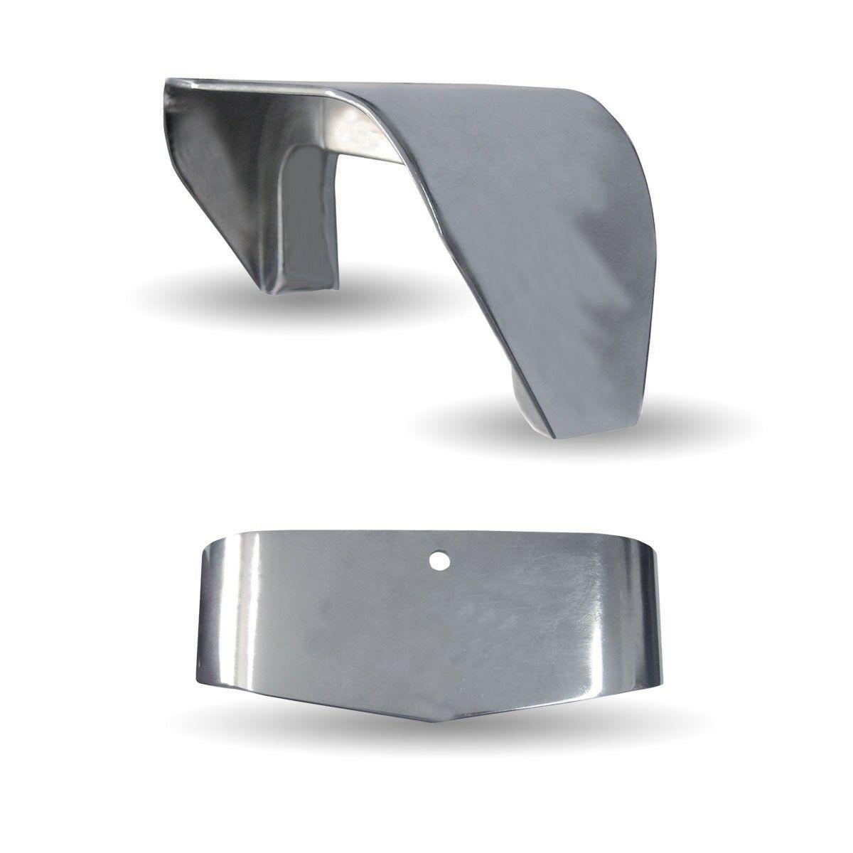 Westcoast Mirror Visor - Chromed Plastic Visor