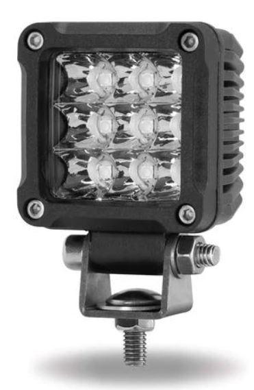 """Square Mini 2"""" Spot Cube LED Work Lamp (900 Lumens)"""