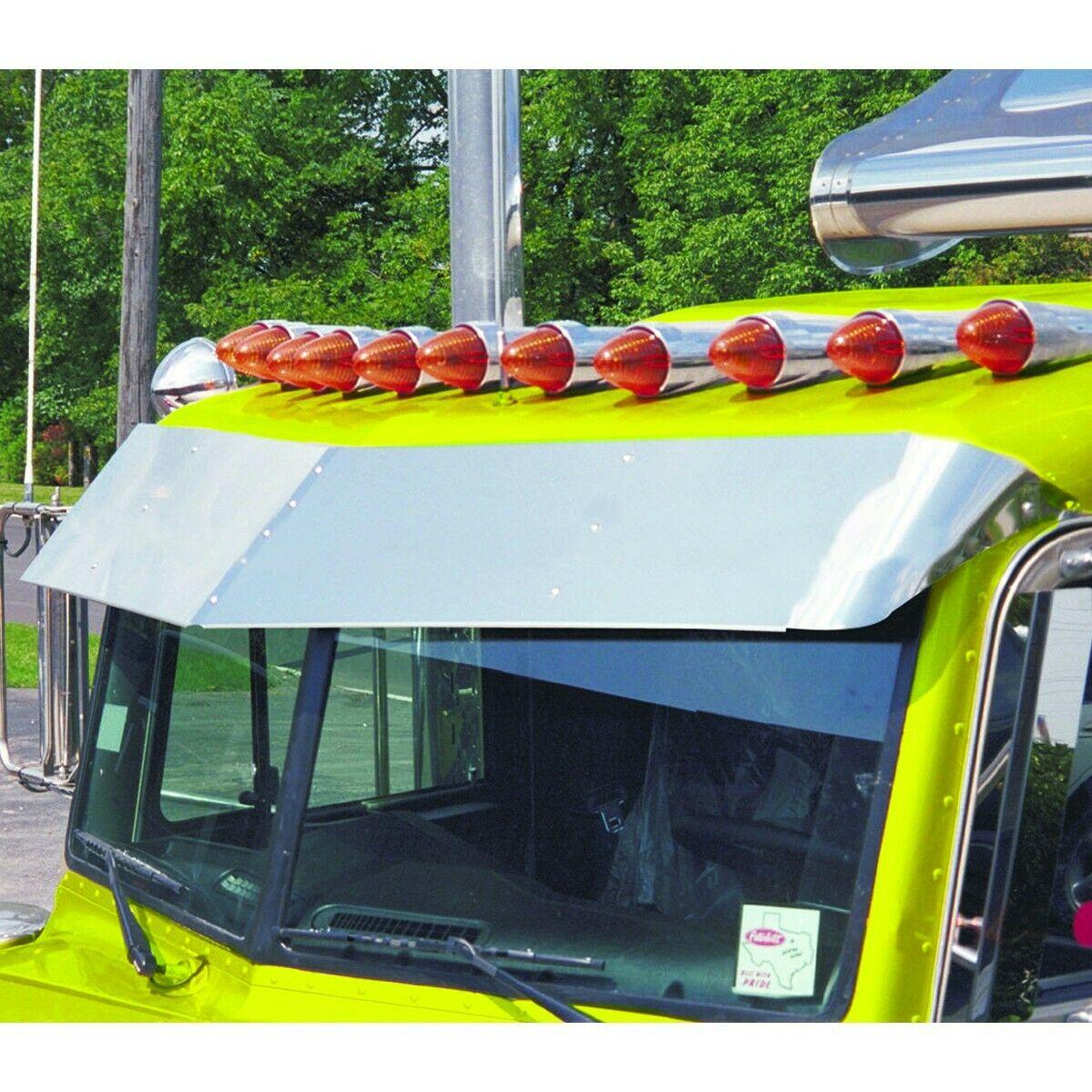 "PB 15"" Standard Cab ""V"" Shaped Sun visor - Peterbilt 330 335 340 357 378 385"