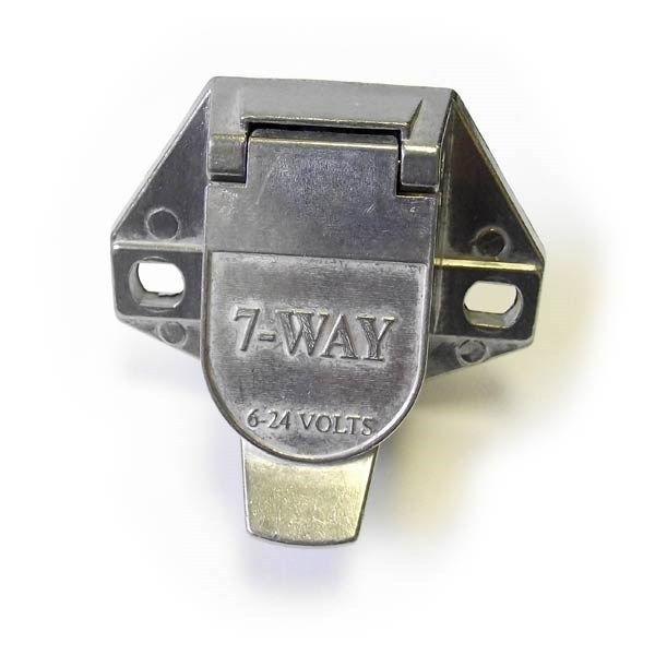 7 PIN HEAVY DUTY SOCKET CONNECTOR - SPLIT PIN - KENWORTH, FREIGHTLINER  IHC