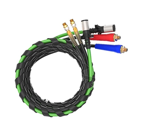 Air Power Line 3 in 1 Air Line for Tractor Trailers, ABS, Big Rig Trucks, 15ft