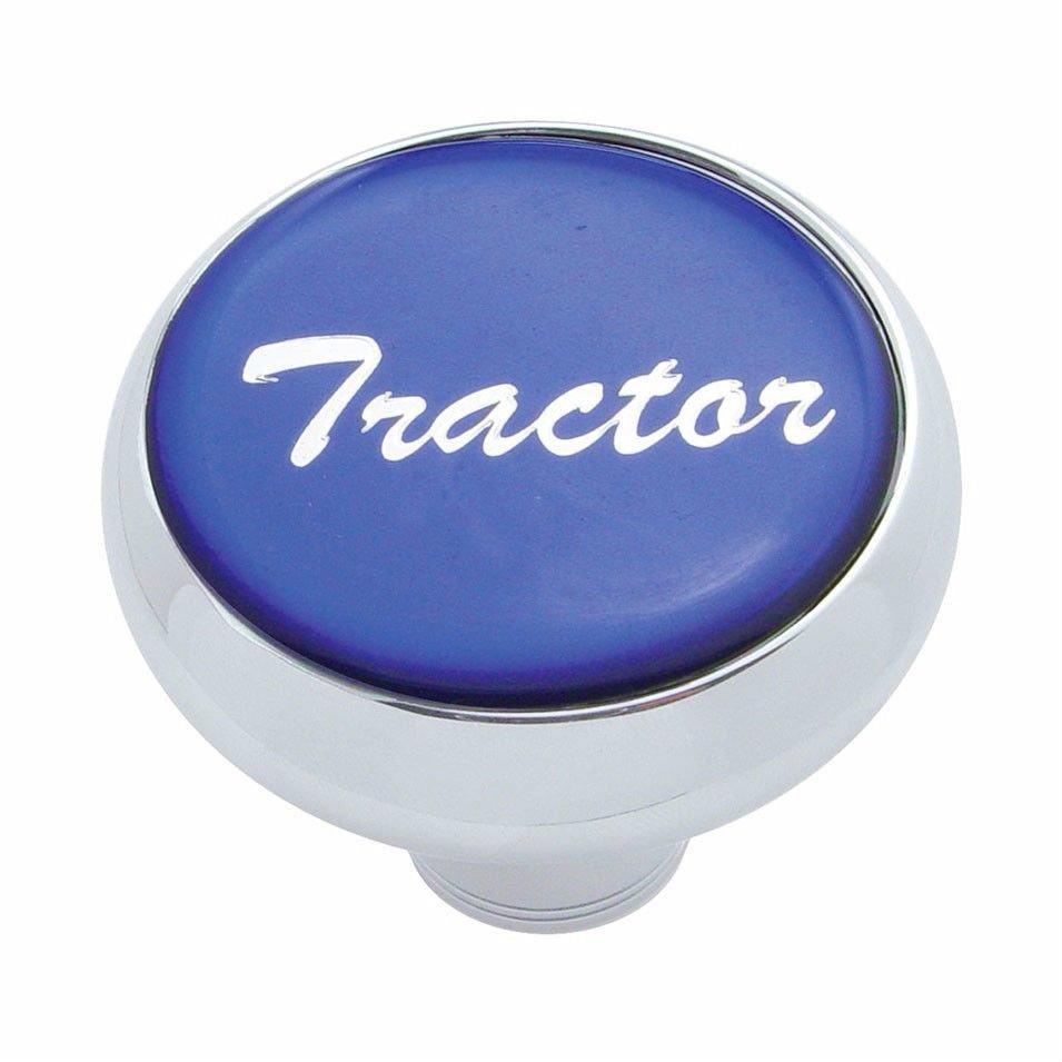 Deluxe knob tractor Blue sticker screw-on air valve Freightliner Peterbilt