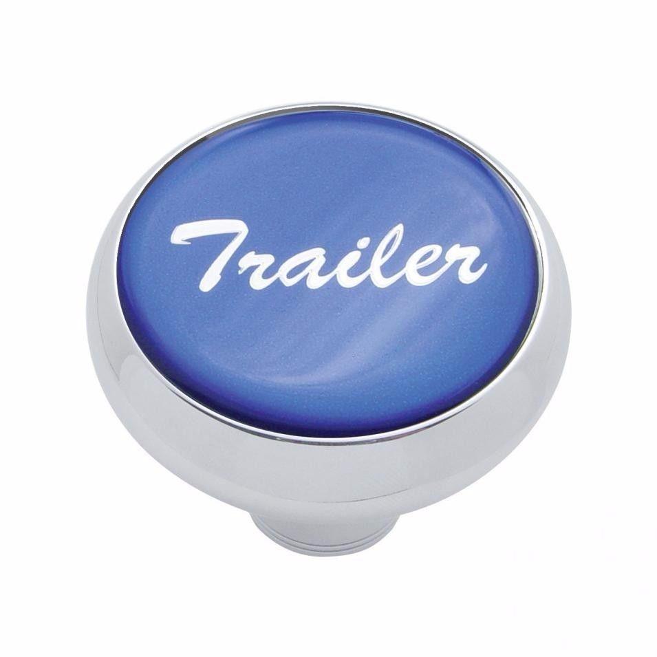 Deluxe knob trailer Blue sticker screw-on air valve Freightliner Peterbilt