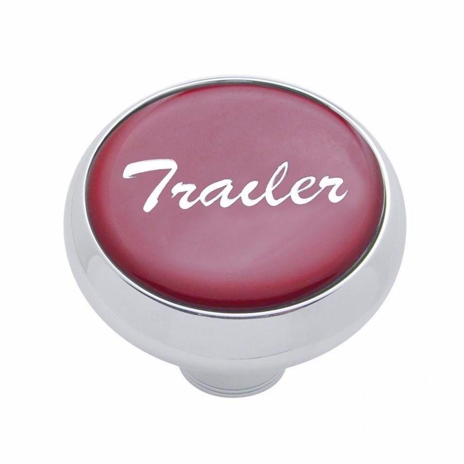 Deluxe knob trailer Red sticker screw-on air valve Freightliner Peterbilt