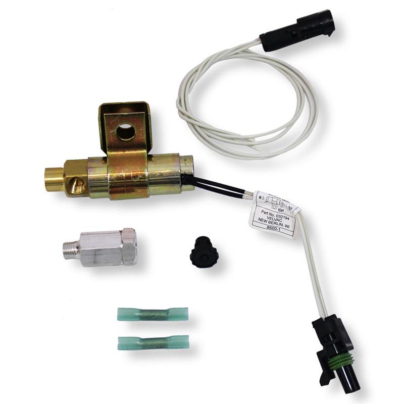 universal fan clutch solenoid kit horton kysor & bendix fan clucthes all  makes - uatparts