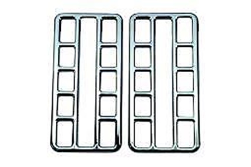 Chrome Vent Covers - Peterbilt 2001-2005 (370 Series) (Pair)