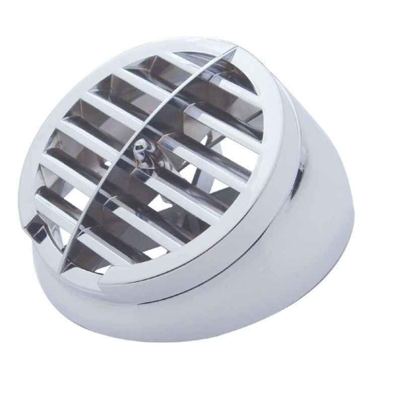 Defroster Vent Round Chrome Plastic for 359 Peterbilt Kenworth A Model Dash