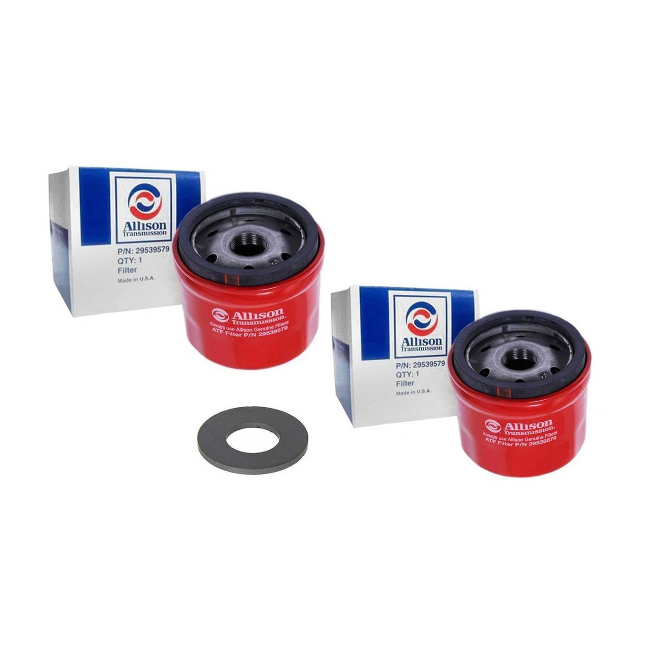 Spin on Filters with Magnet for Allison Transmission T1000, Pack of 2