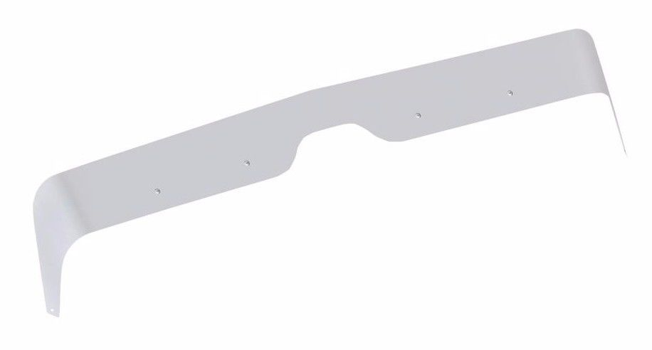 International 9900 Series/5900i SFA Stainless Steel Bug Deflector