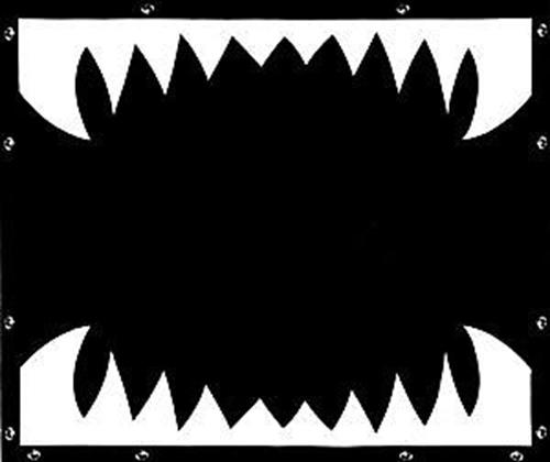 Shark Teeth Bug Screen - Peterbilt 377,378,379 (Regular Hood) 1995 to present