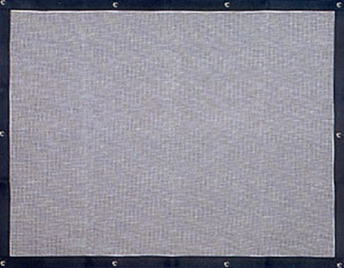 Plain Bug Screen - Peterbilt 377,378,379  (Regular Hood)