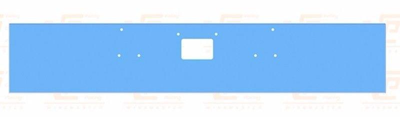 """Peterbilt 378 379  CHROME BUMPER (1987-2006) 18"""" Wide w/ Square boxed Ends"""