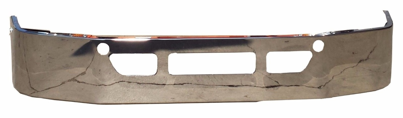 Freightliner Cascadia CHROME Bumper  3 PCS Replacement W/ Brackets