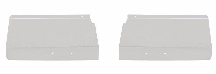 Stainless Steel Fender Shield fits Peterbilt 378/379 (1986+ or Newer) PAIR