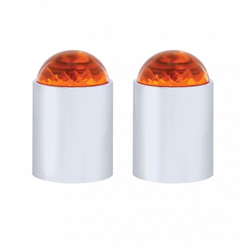 Bumper Guide Tops - Amber (Set of Two)