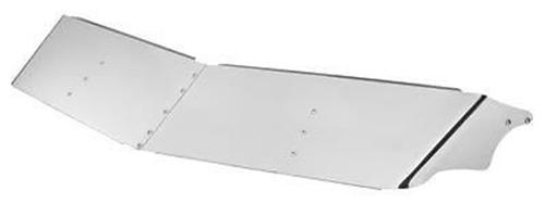 "14""  STAINLESS STEEL DROP VISOR - PETERBILT 377,378,379 (Pre-2005)"