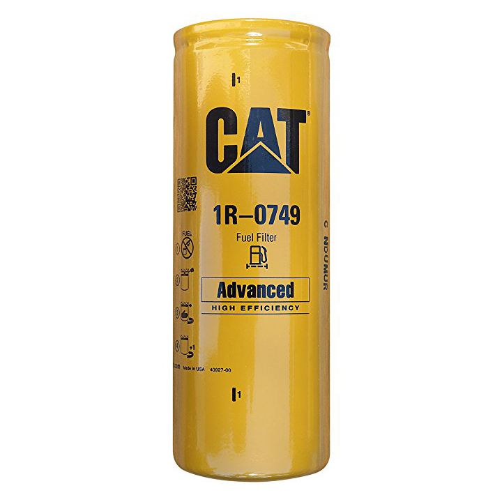 Caterpillar Fuel Filter # 1R-0749 (Made in the USA)  ONE FILTER ONLY